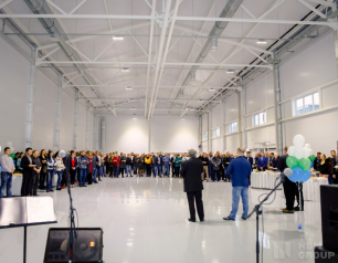 Opening of a new warehouse