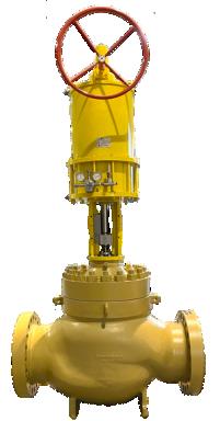 On-off & control valve