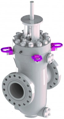 Double expanding gate valves