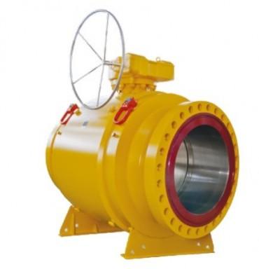 Fully-welded ball valves