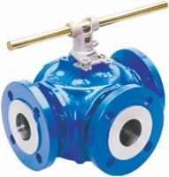 Diverting and mixing valves