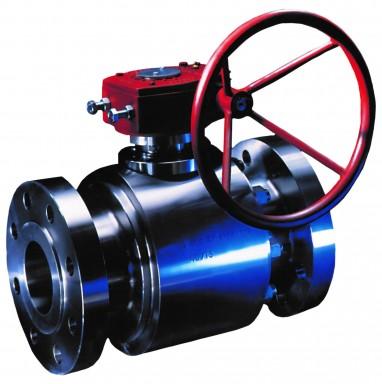 Floating ball valves