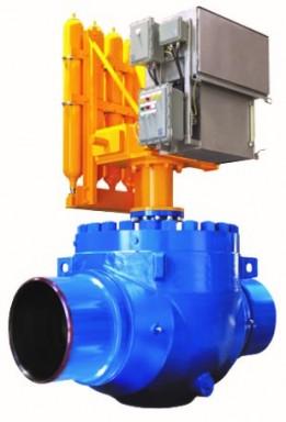 Top entry ball valves
