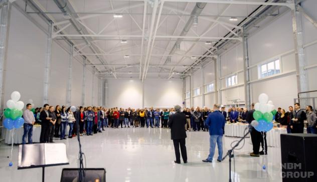Открытие нового склада